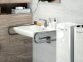 porecz przy umywalce